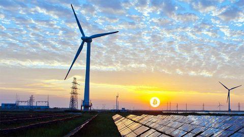 Bitcoin a obnovitelné zdroje energie