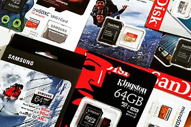 Velký srovnávací test - paměťové karty 64 GB micro SDXC 2016