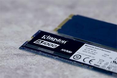 SSD Kingston A1000 – nejlevnější 1TB NVMe disk na trhu
