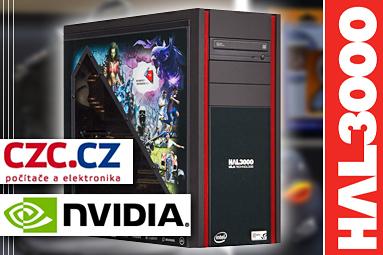 Vyhrajte sestavu HAL3000 – soutěžíme s nVidií a CZC