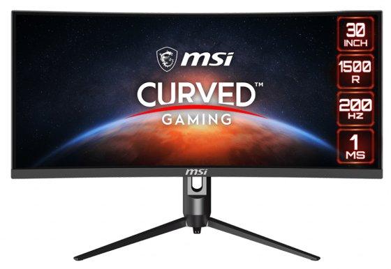 MSI MAG301CR2 je zakřivený monitor s 200 Hz a FreeSync Premium