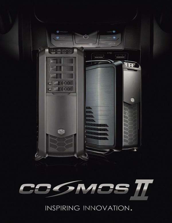 Nová Cooler Master Cosmos II – smekáme klobouk!
