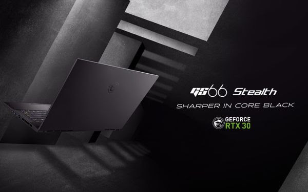 MSI představilo nové notebooky s výkonnými grafikami GeForce RTX 30