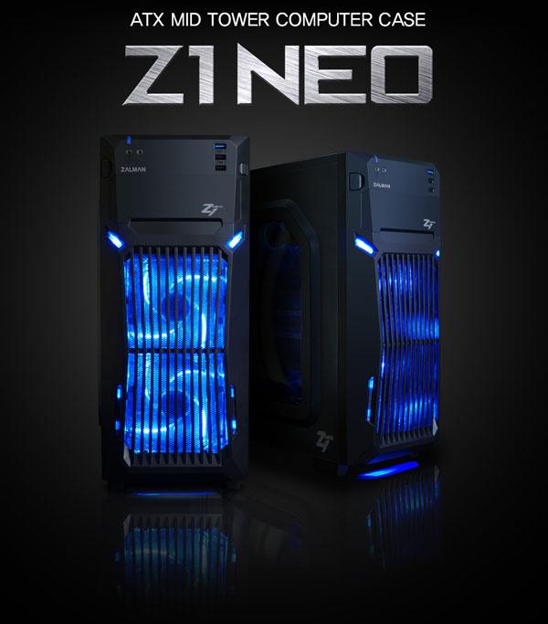 Elegantní či dravý vzhled nemusí být jen výsadou drahých skříní - Zalman Z1 NEO.