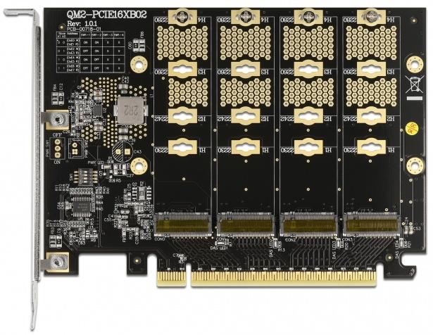 Asus Hyper M.2 a 4x Samsung 980 Pro: Extrémní úložiště
