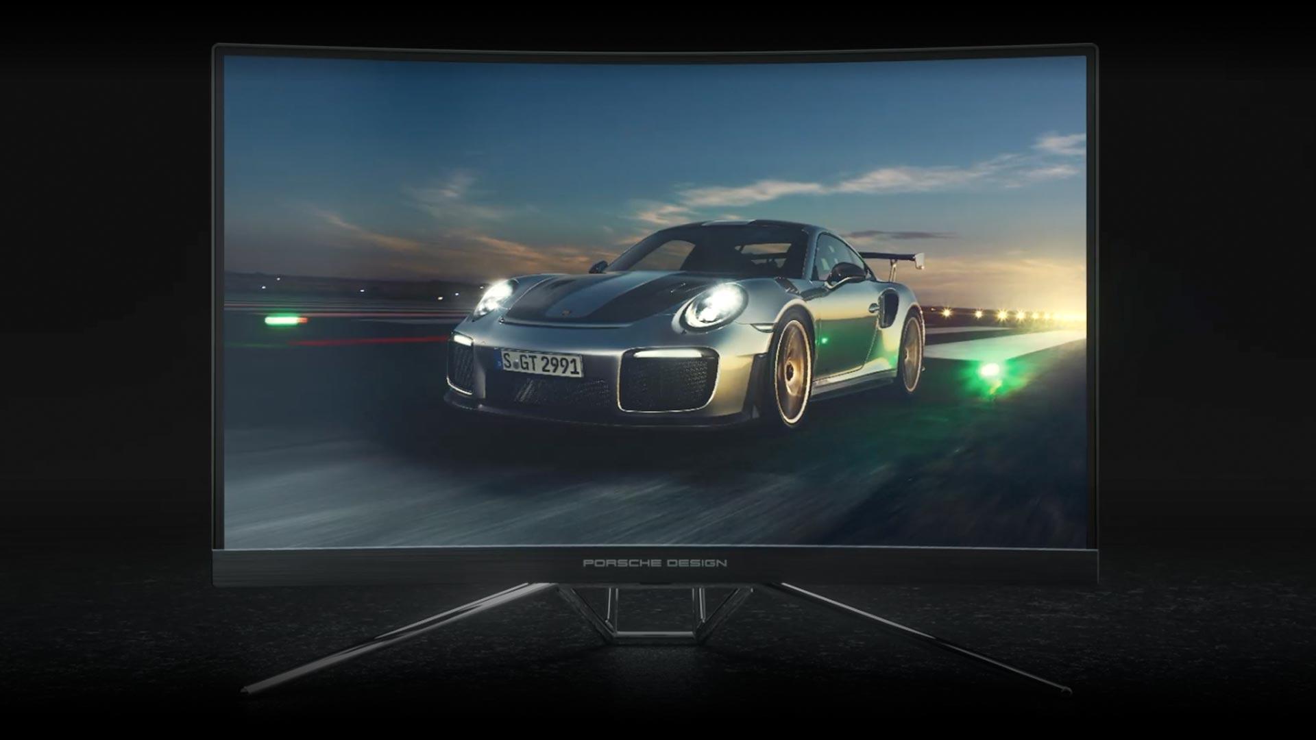Porsche Design AOC AGON PD27: Závodní designový monitor s 240 Hz