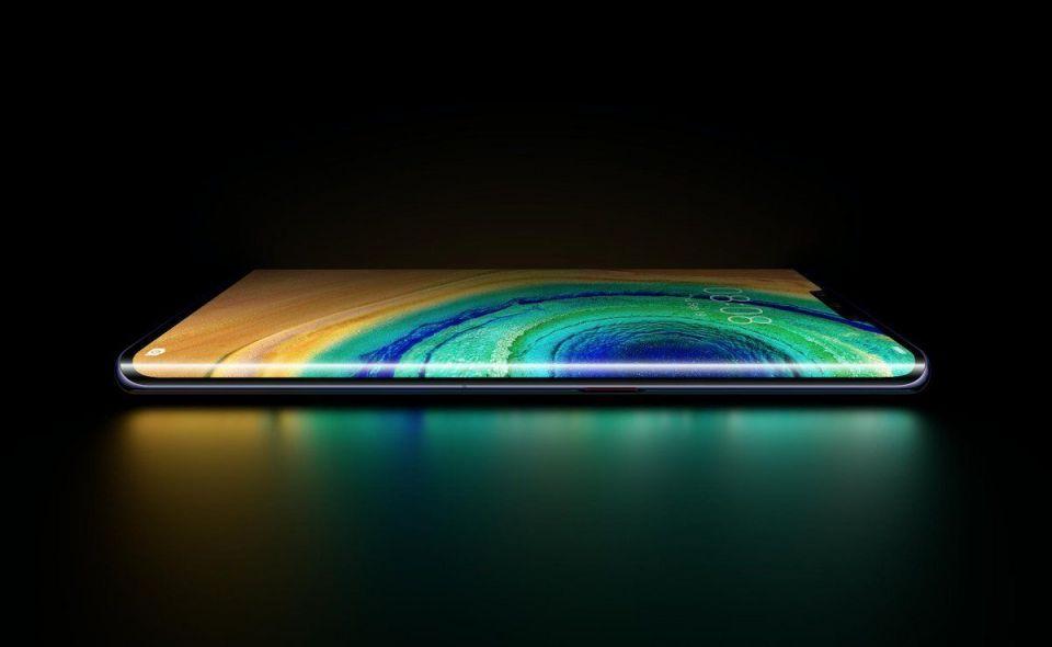 Chytré telefony série Huawei Mate 30 se odhalují