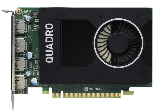 nVidia odhalila desktopovou profi grafiku Quadro M2000 s cenovkou pod 16 000 Kč