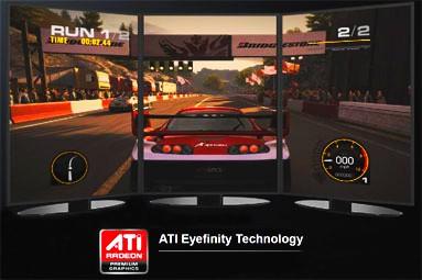 Hrajeme na třech monitorech — test AMD Eyefinity