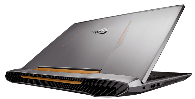 Asus G752VS: výkonný herní notebook s GTX 1070