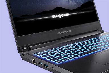 Notebook Eurocom Nightsky ARX15: AMD R9 3950X a RTX 2070