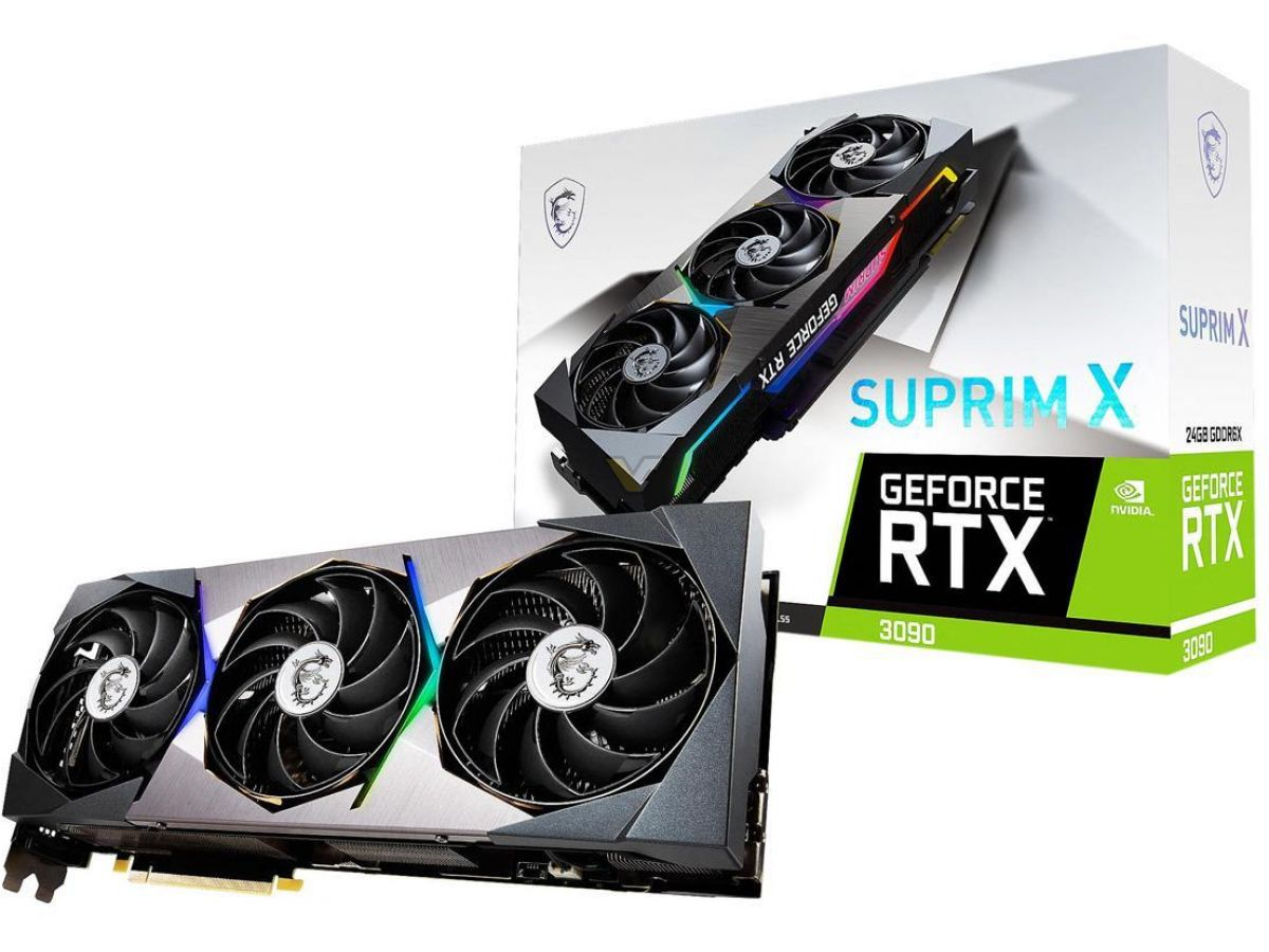 MSI odhalilo výkonné grafiky GeForce RTX 3090 SUPRIM X a RTX 3080 SUPRIM X