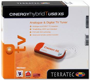 Digitální + analogový TV tuner: Terratec Cinergy Hybrid T USB XS