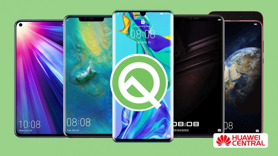 Jaké chytré telefony Huawei dostanou nový Android Q?