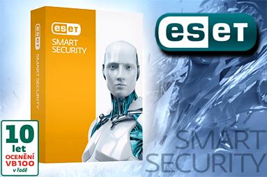 Hrajte o 15 kvalitních antivirů ESET Smart Security 7
