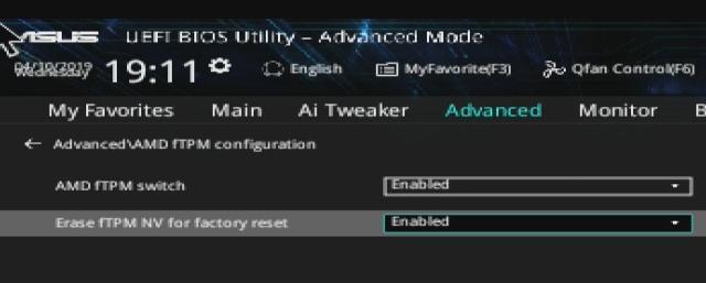 AMD fTPM