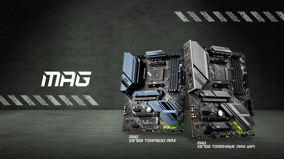 MSI uvádí nové základní desky MAG X570S