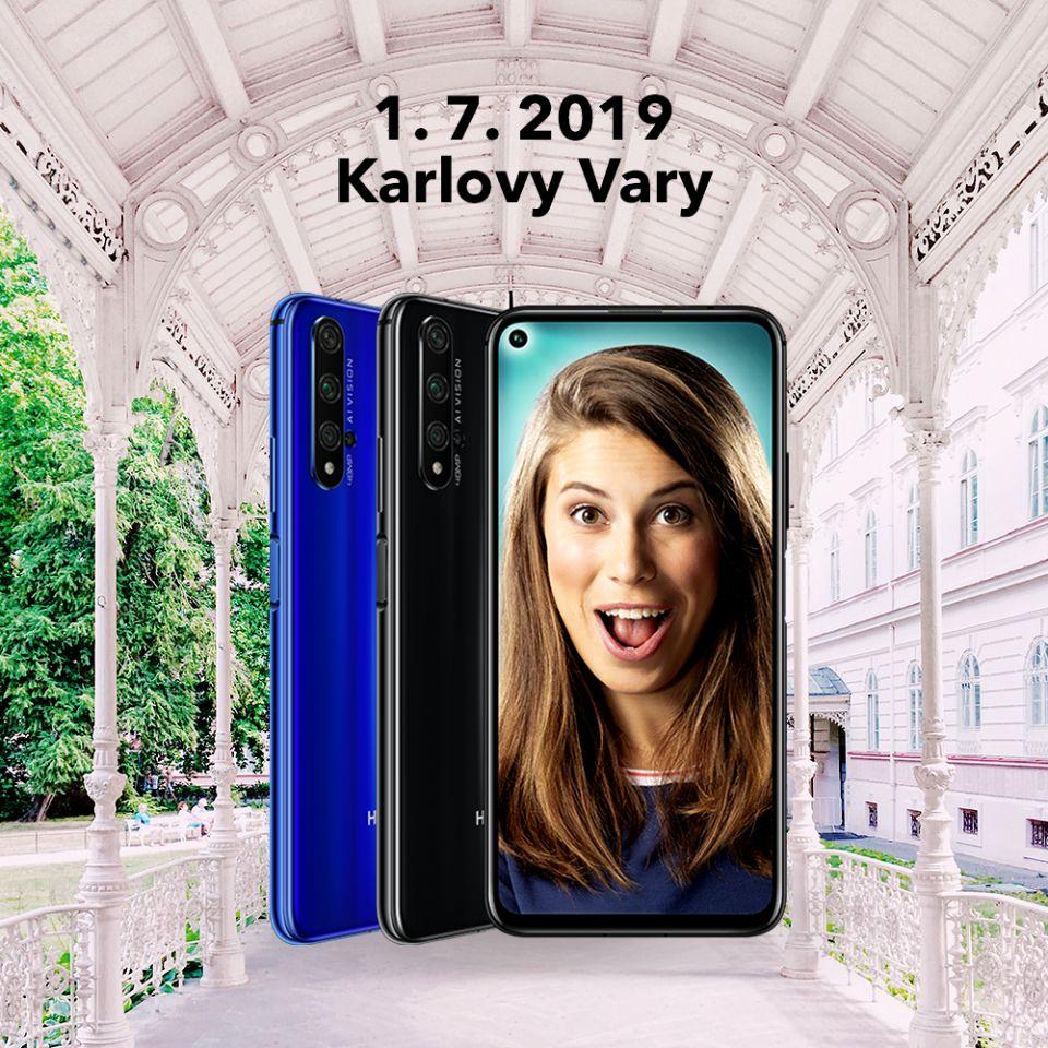 Eva Samková a Honor vás naučí v Karlových Varech fotit mobilem