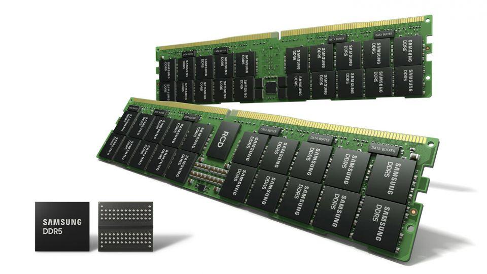 Samsung začíná ve velkém vyrábět 14 nm DDR5 DRAM