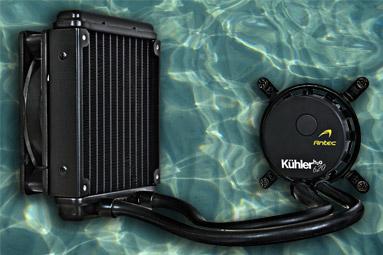 Kompaktní vodník Antec Kühler H2O 620 - vyplatí se?