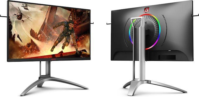 AOC představuje nový AG273QX: monitor pro profi hráče s bohatou výbavou