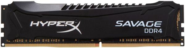Paměťový modul DDR4 Kingston HyperX Savage Black