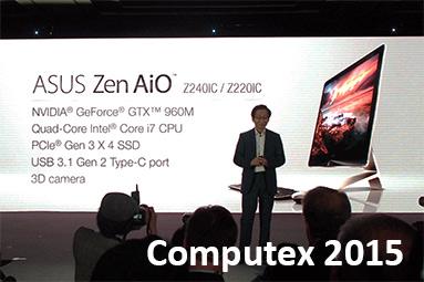 Asus na Computexu 2015: novinky z tiskové konference