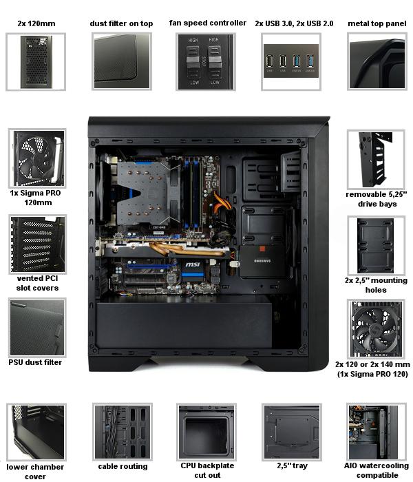 Soutěžte se SilentiumPC: 3× skříň, nebo chladič