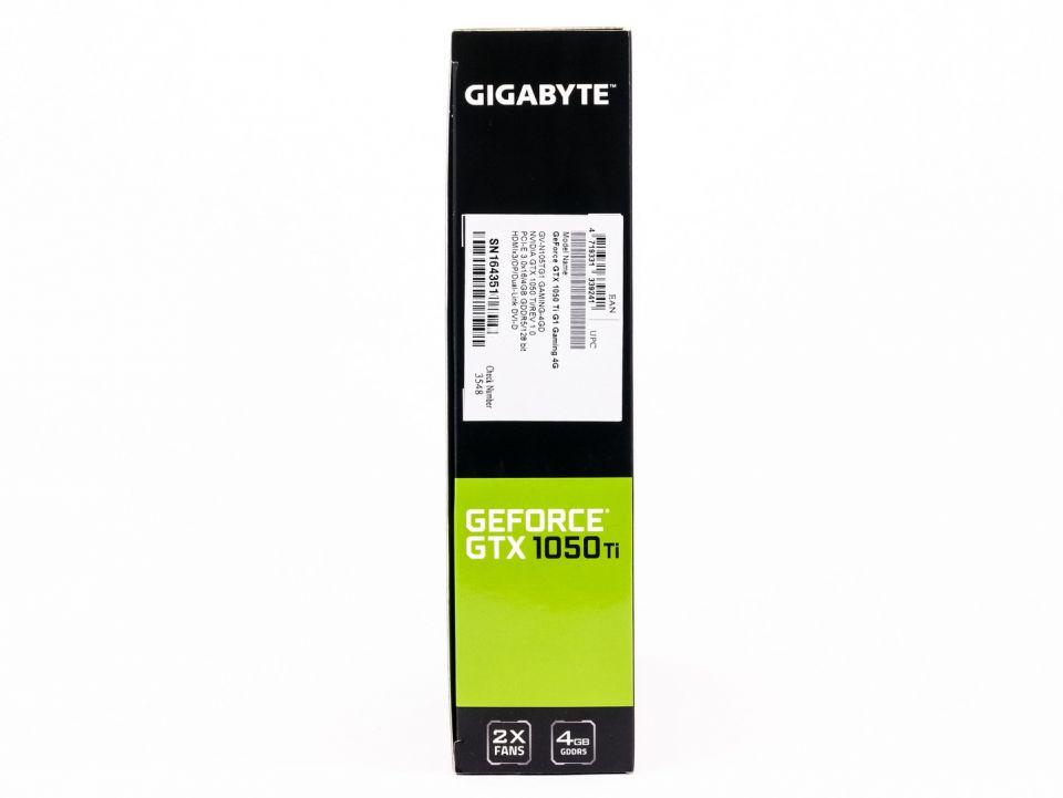 Gigabyte GTX 1050 Ti G1 Gaming: špičková pro až 4 monitory