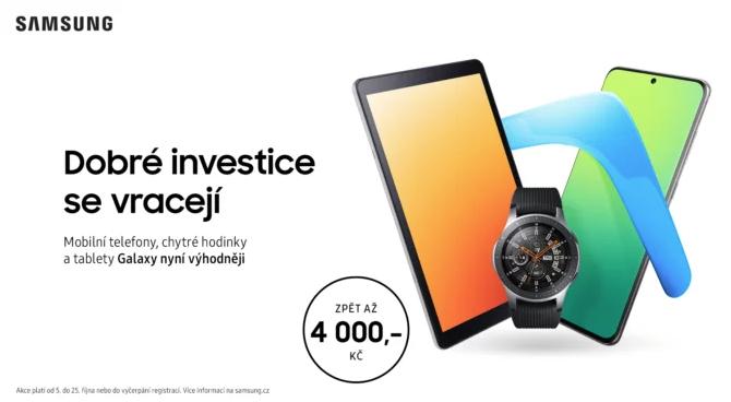 Na Galaxy S20 teď ušetříte 3 500 Kč. Samsung spouští nový cashback