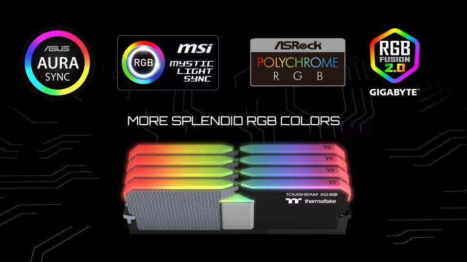 Thermaltake rozšiřuje sérii ToughRAM o 32GB moduly