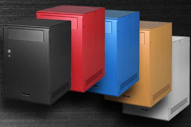 LianLi PC-Q07 - Skříň pro HTPC v barvách duhy