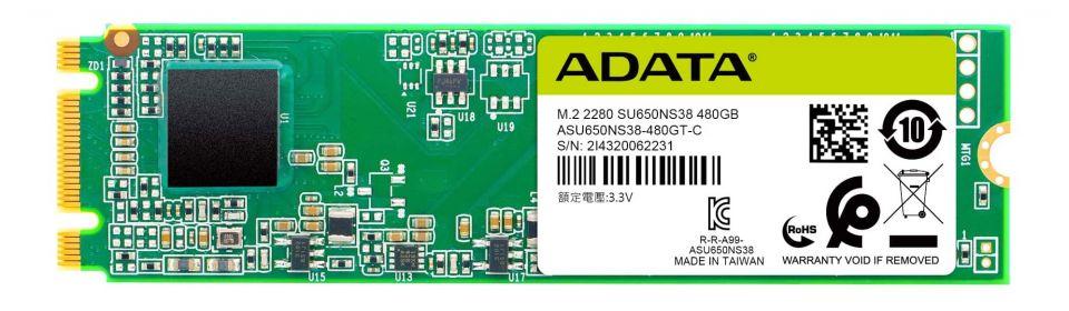 ADATA si připravilo levný M.2 SSD SU650