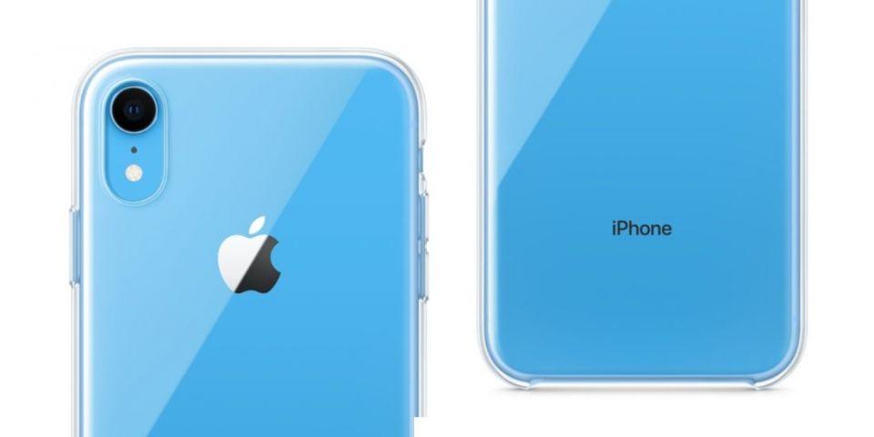 Apple poprvé v historii začal prodávat průhledný obal, aby ukázal pestré barvy iPhonu XR
