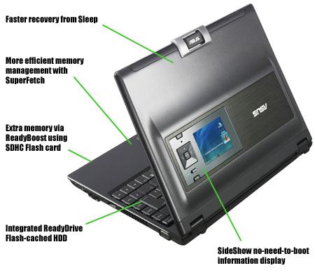 Windows Vista na notebooku