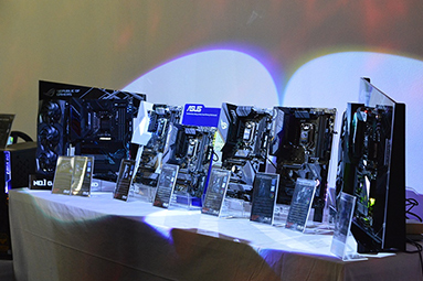 Novinky Asus a nová čipová sada Intel Z390 v Praze