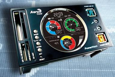 Aerocool monitoring – aneb tři panely v testu