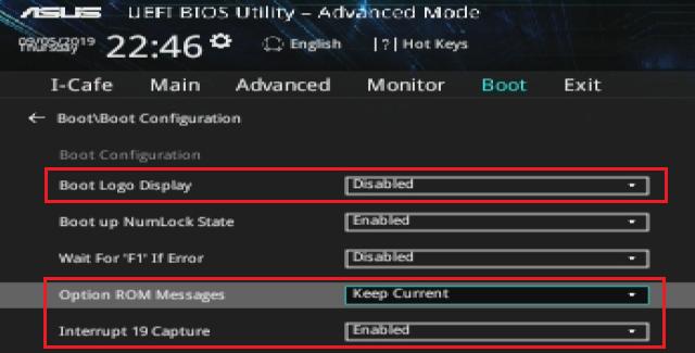 Příprava BIOS 1
