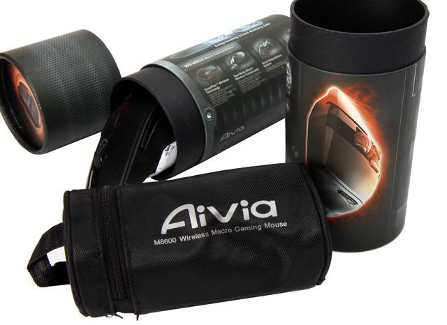 Gigabyte M8600 Aivia – drsná bezdrátová myš se zásobníkem