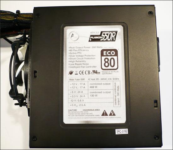 Arctic Cooling Fusion 550R - kvalita za rozumnou cenu?