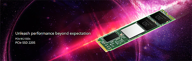 SSD disk Transcend MTE220S (M.2)