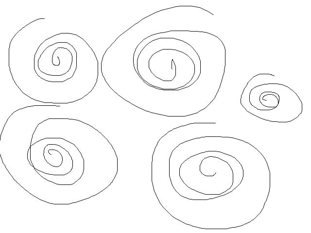 Predikce se aktivuje, když se pohyb myši přibližuje k souřadným osám, případně k diagonálám.