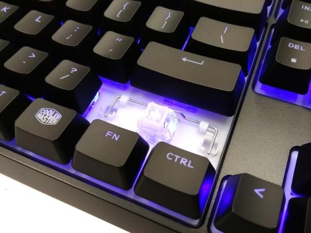Cooler Master MS120: herní myš a mem-chanická klávesnice