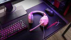 HyperX přináší růžovou barvu herního headsetu Cloud Stinger
