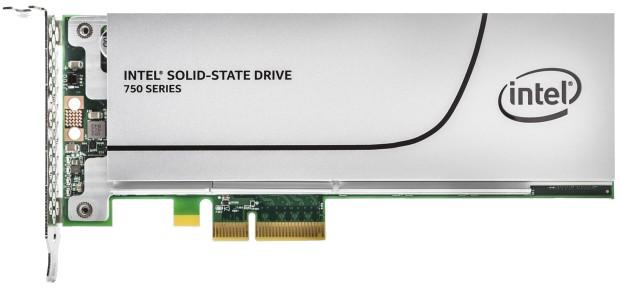 PCI-E SSD disk Intel 750