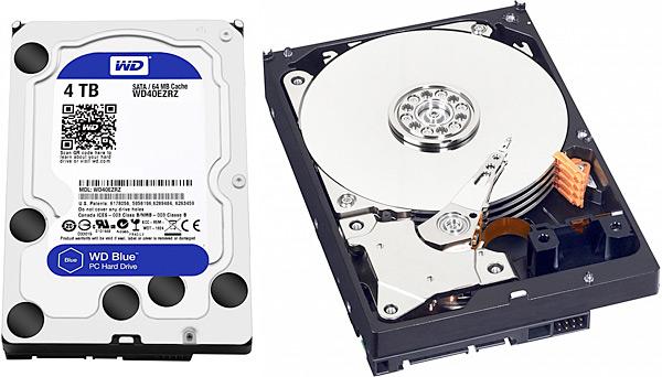 Konvenční disk WD Blue