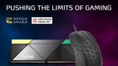 4D herní myš XPG HEADSHOT vyhrála prestižní cenu cenu 2021 Golden Pin Design Award