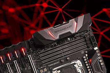 MSI X299 Gaming M7 ACK – Ultra highend pro Skylake-X