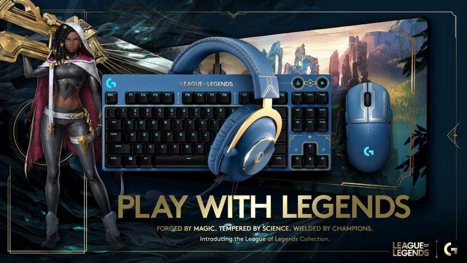 Logitech představuje speciální edici periferií s motivy hry League of Legends