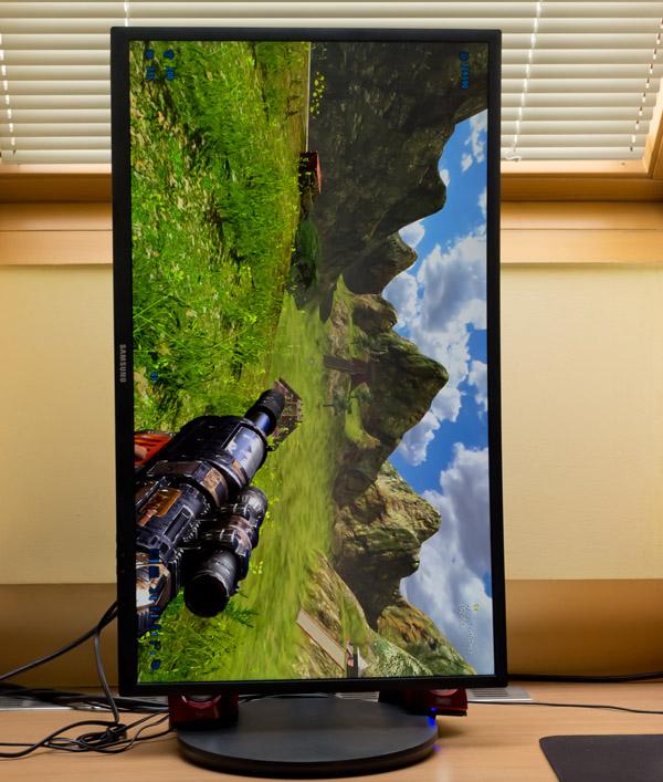 Samsung C27FG70: 144Hz VA monitor s Quantum Dot